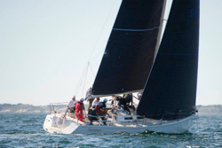 J/120 sailing Halifax race