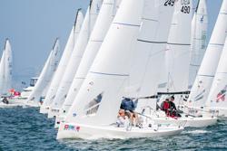 J/70s sailing San Diego NOOD