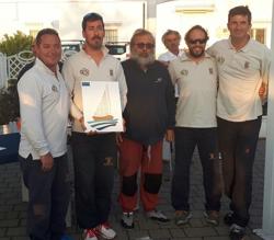 Italian J/24 crew winners