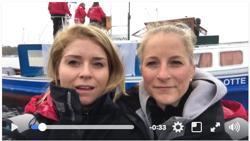 German J/70 women sailors