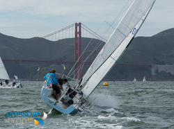 J/90 Ragtime sailing Three Bridge Fiasco