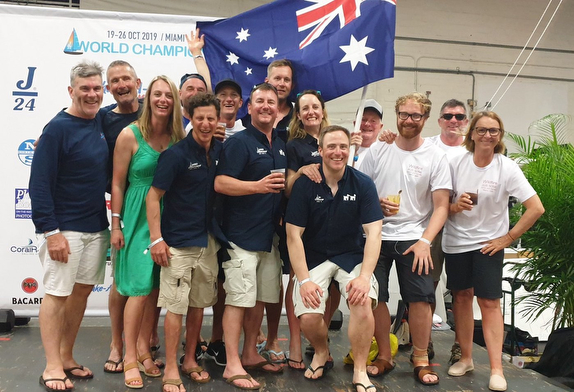 Australian J/24 teams at J/24 Worlds