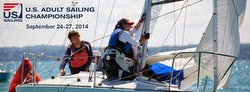 J/22 fleet sailing US Adult Sailing Championship