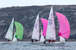 J/22s sailing GPEN regatta off Camaret, France