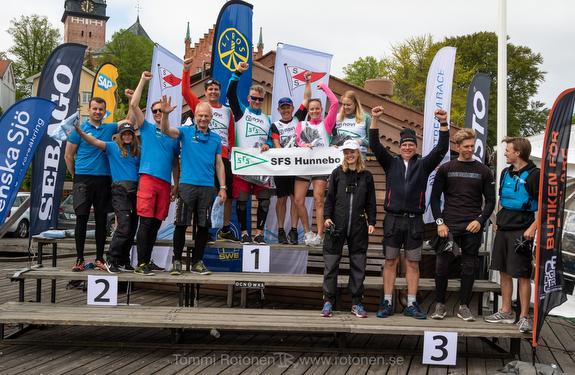 Swedish J/70 sailing league winners