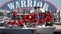 Warrior Sailing Program sailing J/22 sailboats