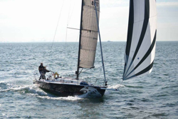 J/105 Panther sailing Fastnet Race