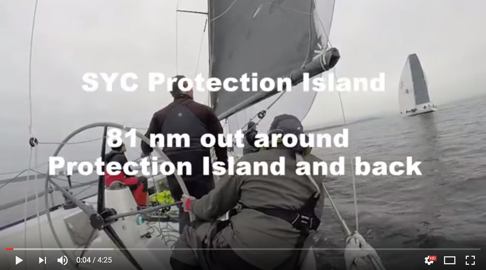 J/125 sailing video