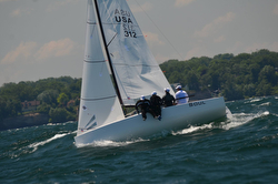 J/70 sailing Cleveland Race Week