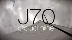 J/70 Cloud Nine sailing in Brazil