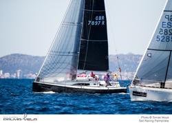 J/97E sailing PalmaVela, Palma Mallorca, Spain