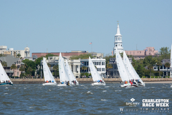 J/24s sailing at Charleston Race Week