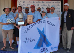 J/53 RIVAL crew win Yachting Cup overall