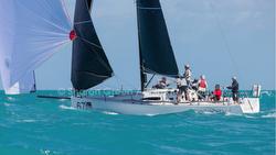 J/111 sailing Key West Race