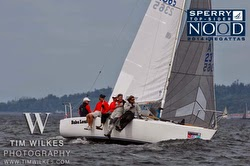 J/24 sailing Seattle NOOD
