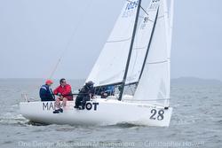 J/70 sailing Tampa Bay/ Davis Island YC