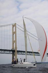 J109 sailing Chicago Mackinac race