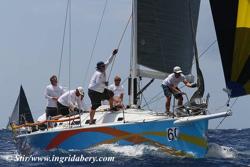 J/122 El Ocaso sailing St Thomas