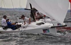 J/70s sailing Marblehead NOOD