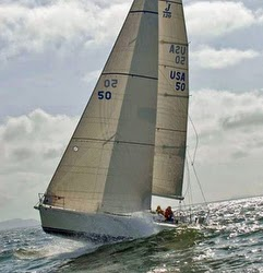 J/120 family cruising sailboat- sailing Oregon Offshore race