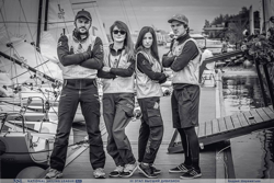 Russian J/70 team at Royal YC Moscow