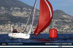 J/70 sailing off Monte Carlo, Monaco