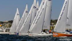 J/105s sailing Lipton Cup