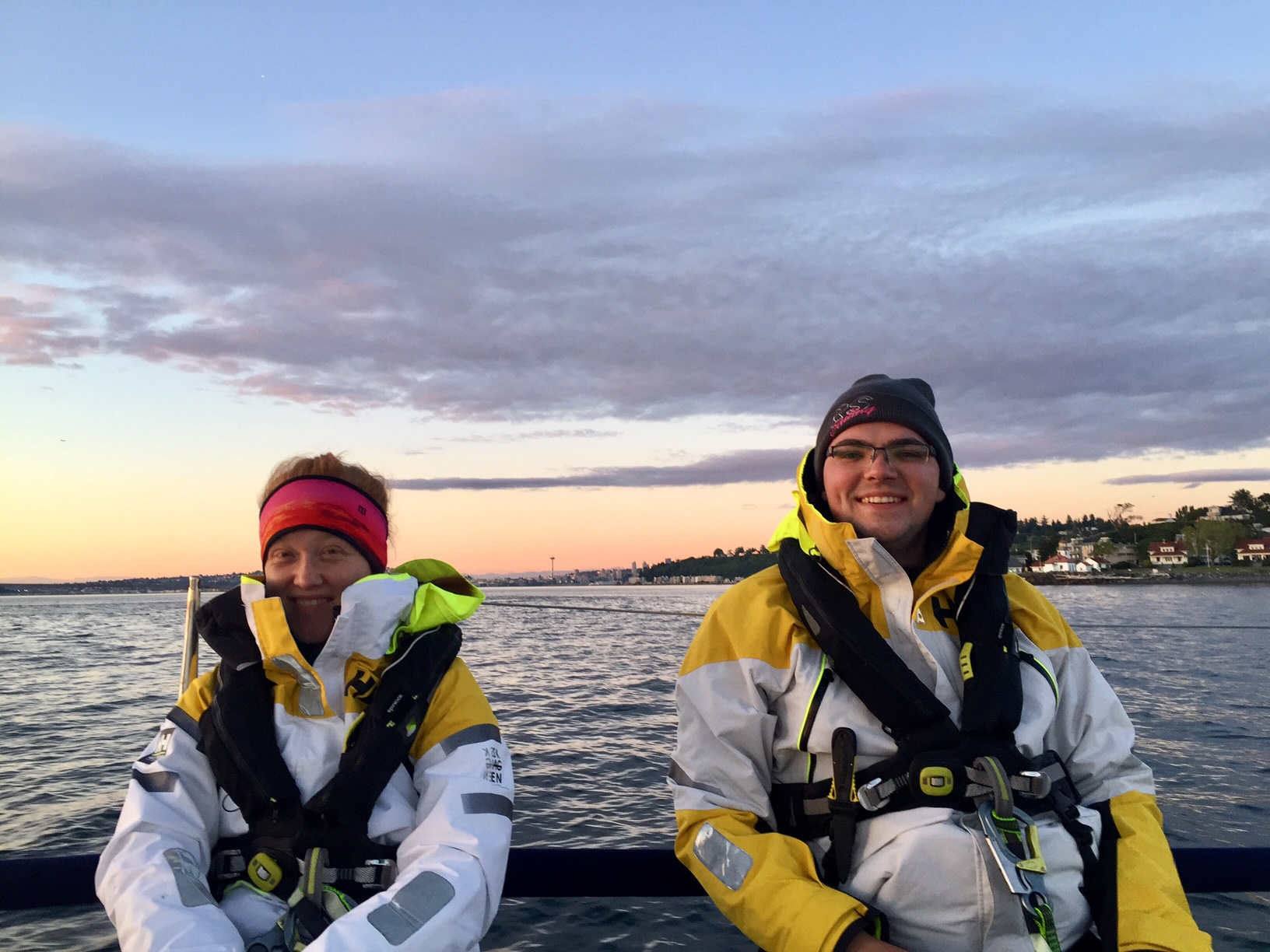 J/88 sailors off Canada
