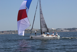 J/88 sailing New York YC regatta