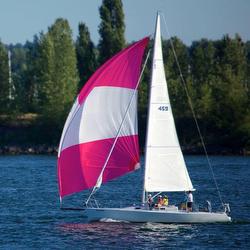 J/105 sailing Swiftsure Cup Race