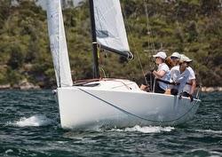 J/70 sailing Sydney Harbour, Australia sport boat regatta