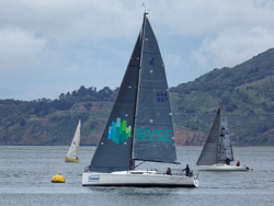 J/111 Aeolus sailing Double Farallones race