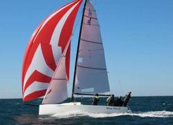 J/70 sail testing for Ullman