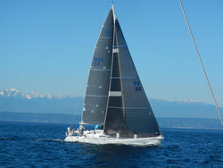 J/120 Time Bandit sailing Swiftsure Cup