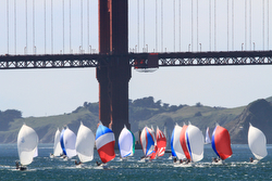 J/105s sailing JFest San Francisco