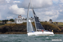 J/109 sailing Cork Week