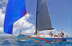 J/122 sailing at Heineken St Maarten Regatta
