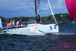 J/70 sailing Swedish league