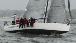 J/88 Deviation sailing Edlu race