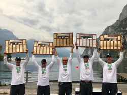 J/24 World Champions- Will Welles- Lake Garda, Italy