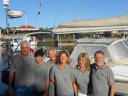 J/160 Salacia crew