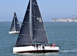 J/111 sailing San Francisco