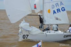 J/24 sailing Argentina- Buenos Aires