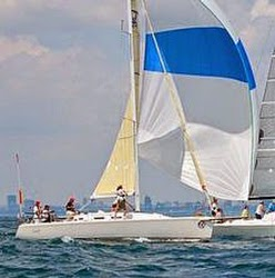 J/109 sailing on Lake Ontario
