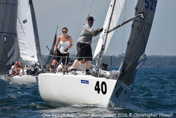 J/24s sailing North Americans