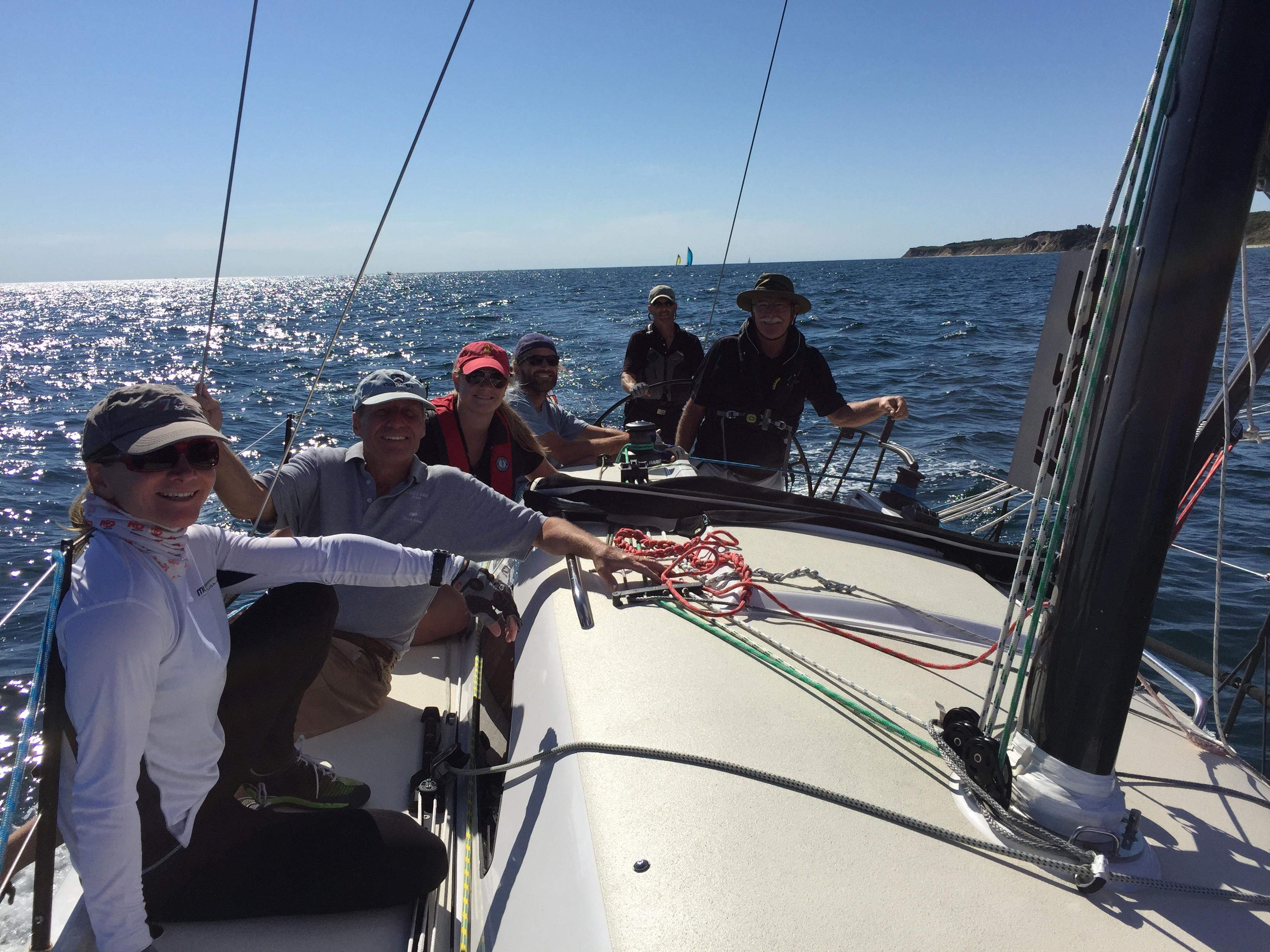J/111 Wild Child sailing Block Island round island race