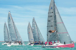 J/88s sailing Key West
