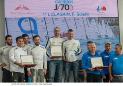 J/70 winners at Alcatel J/70 Cup