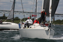 J/109 sailing Ida Lewis Distance Race