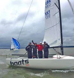 J/70 boats.com wins UK Nationals